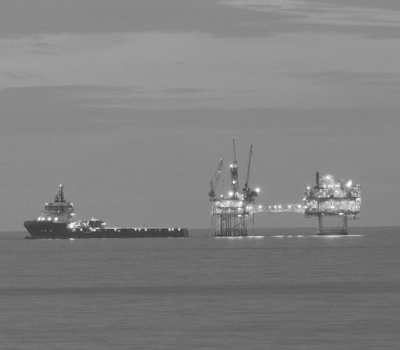 boat oil rig